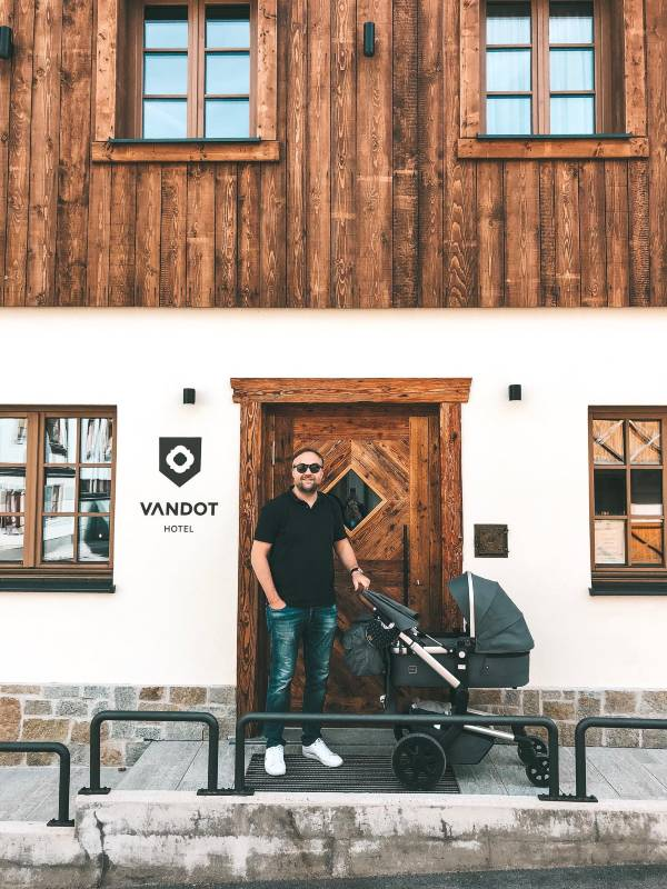 Hotel Vandot Kranjska Gora, vikend izlet z dojenčkom