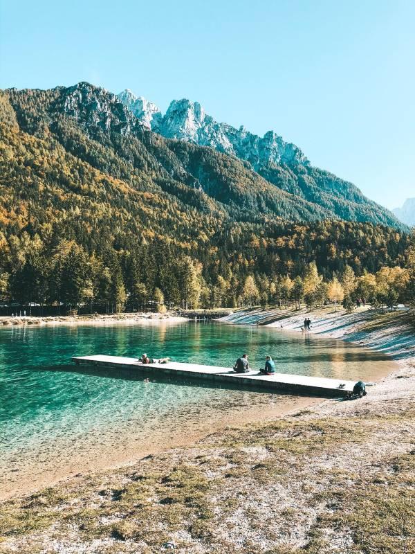 Vikend izlet z dojenčkom - Jezero Jasna
