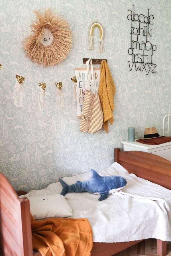 Carica sveta, otroška soba, dekor