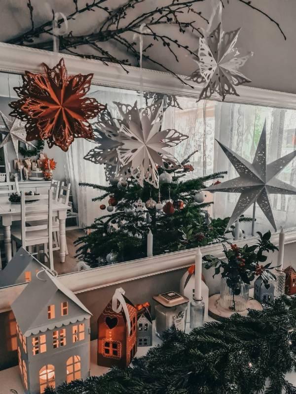 Ljubki dom - papirnate zvezdice