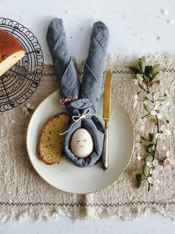 Velikonočni zajček pogrinjek