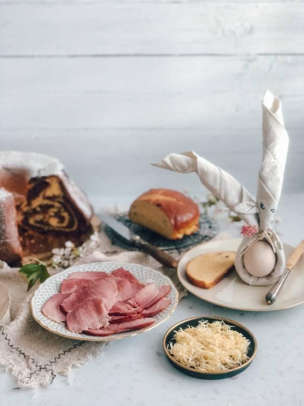 Velikonočni zajtrk in pinca
